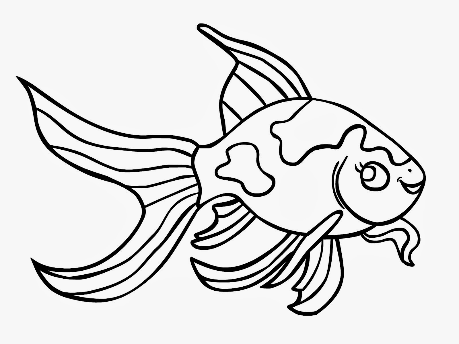 Free coloring pages fish - Cool Clown Colouring Pages Free Printable Pages For Kids Coloring With Rainbow Trout Coloring Page