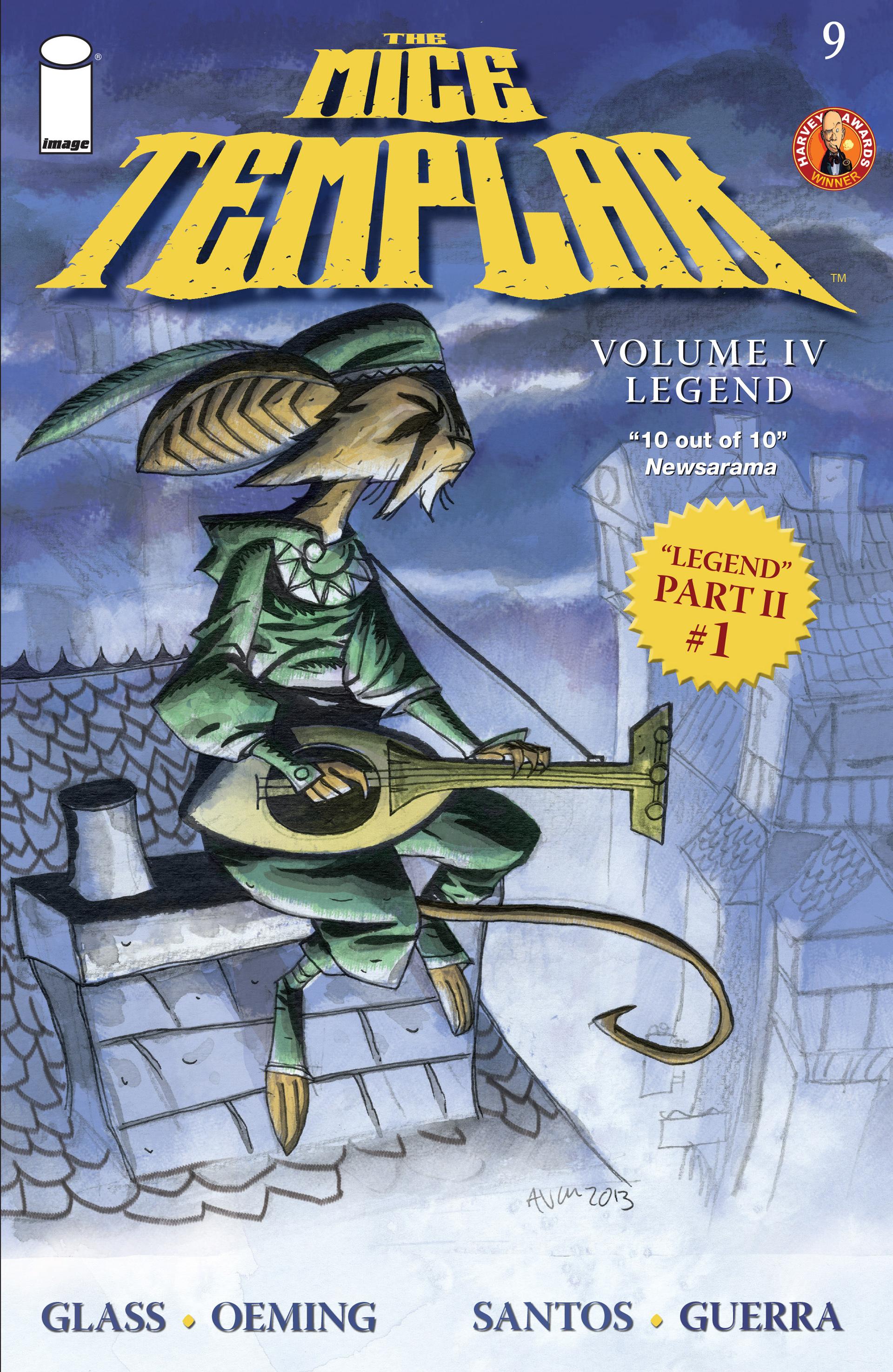 The Mice Templar Volume 4: Legend 9 Page 1