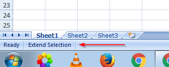 Excel-Extended-Selection-Mode