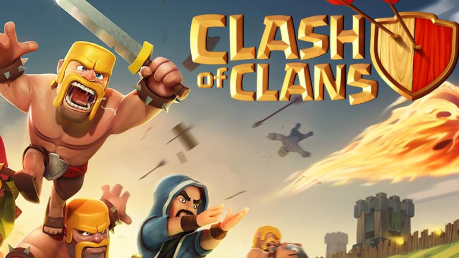 تحميل لعبة clash of clans للاندرويد