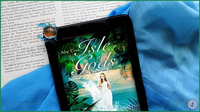 Rezension Isle of Gods Die Kinder von Atlantis Alia Cruz BitterSweet im.press griechische Mythologie Fantasy
