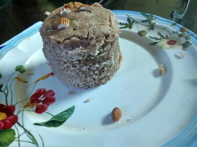 2-Min No Oil Mug Cake No Egg: Almond Butter Cake in A Mug ...