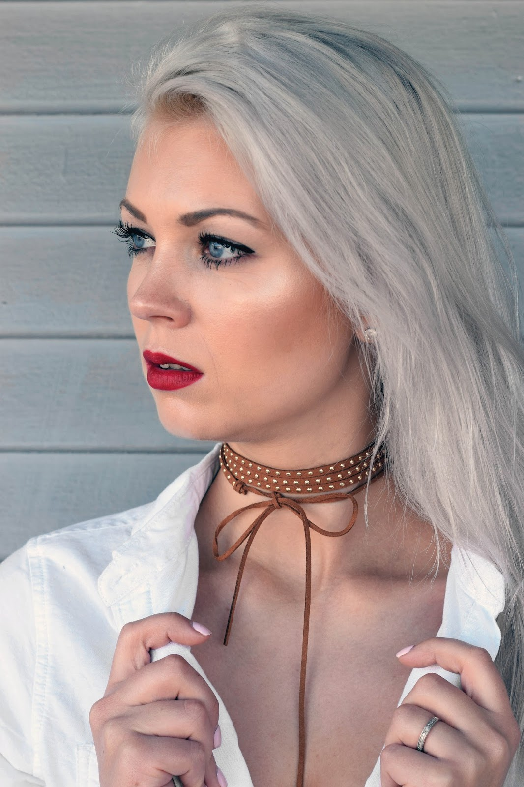 jules smith designs, jules smith, choker, how to wear choker, nye, germanblondy, german blondy