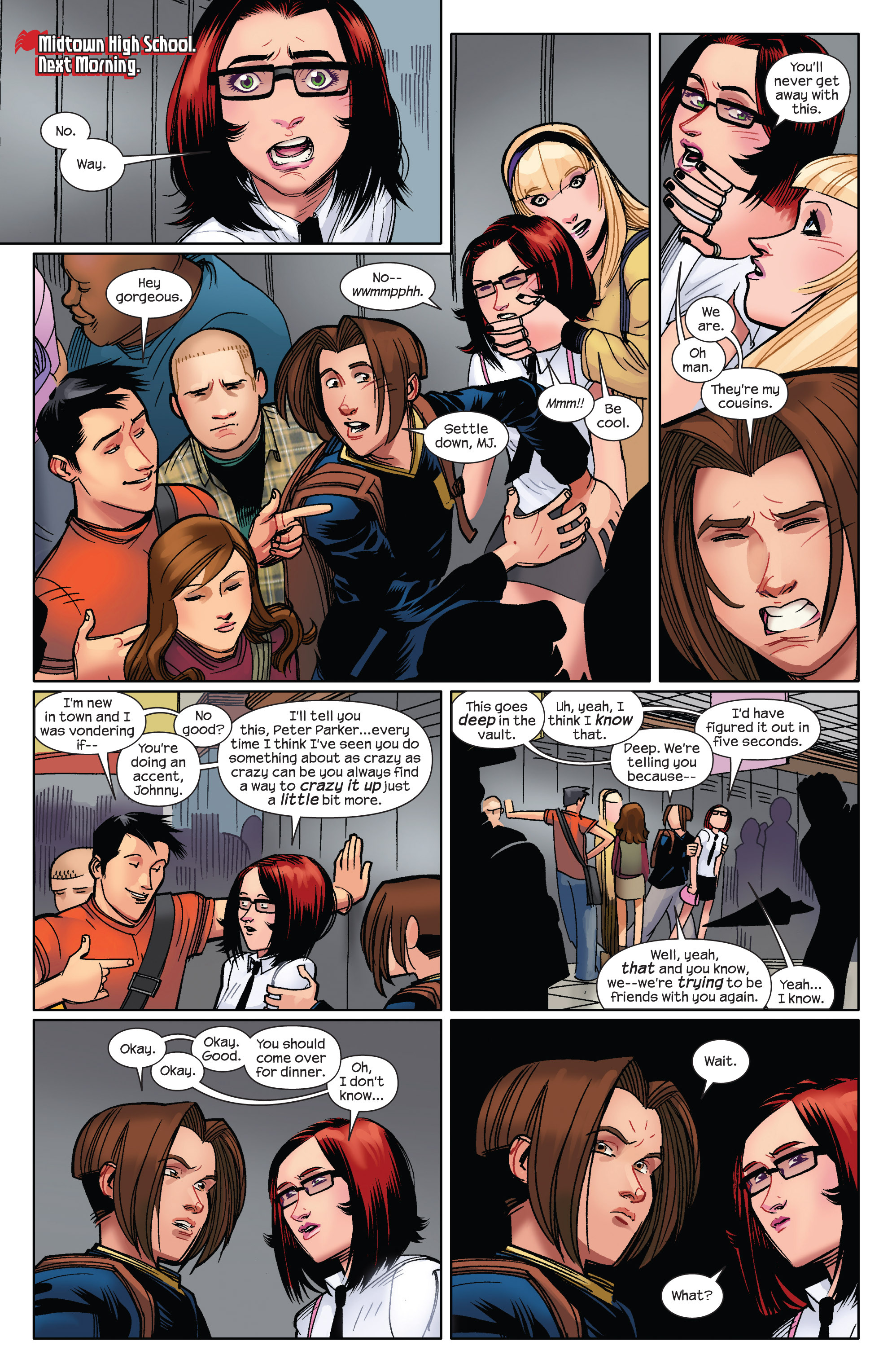 Read online Ultimate Spider-Man (2009) comic -  Issue #6 - 9