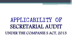 Applicability-Secretarial-Audit-Companies-Act-2013