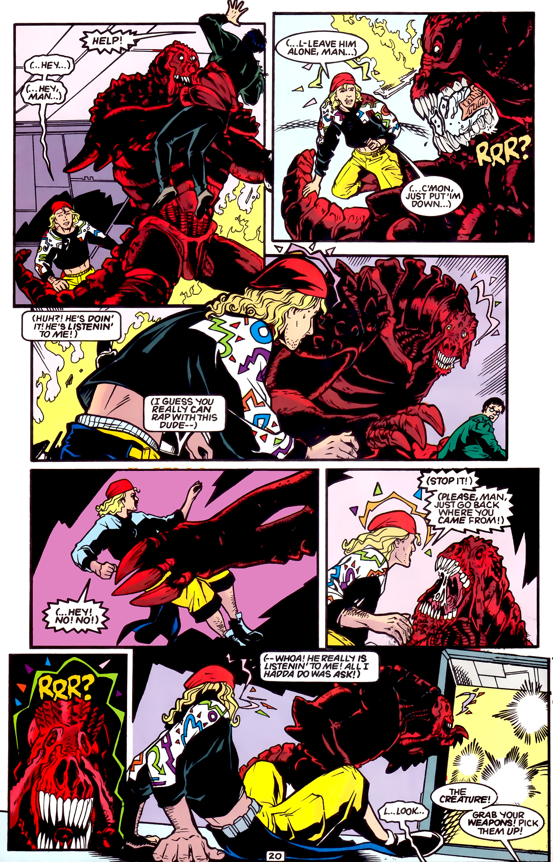 Legion of Super-Heroes (1989) _Annual_4 Page 20