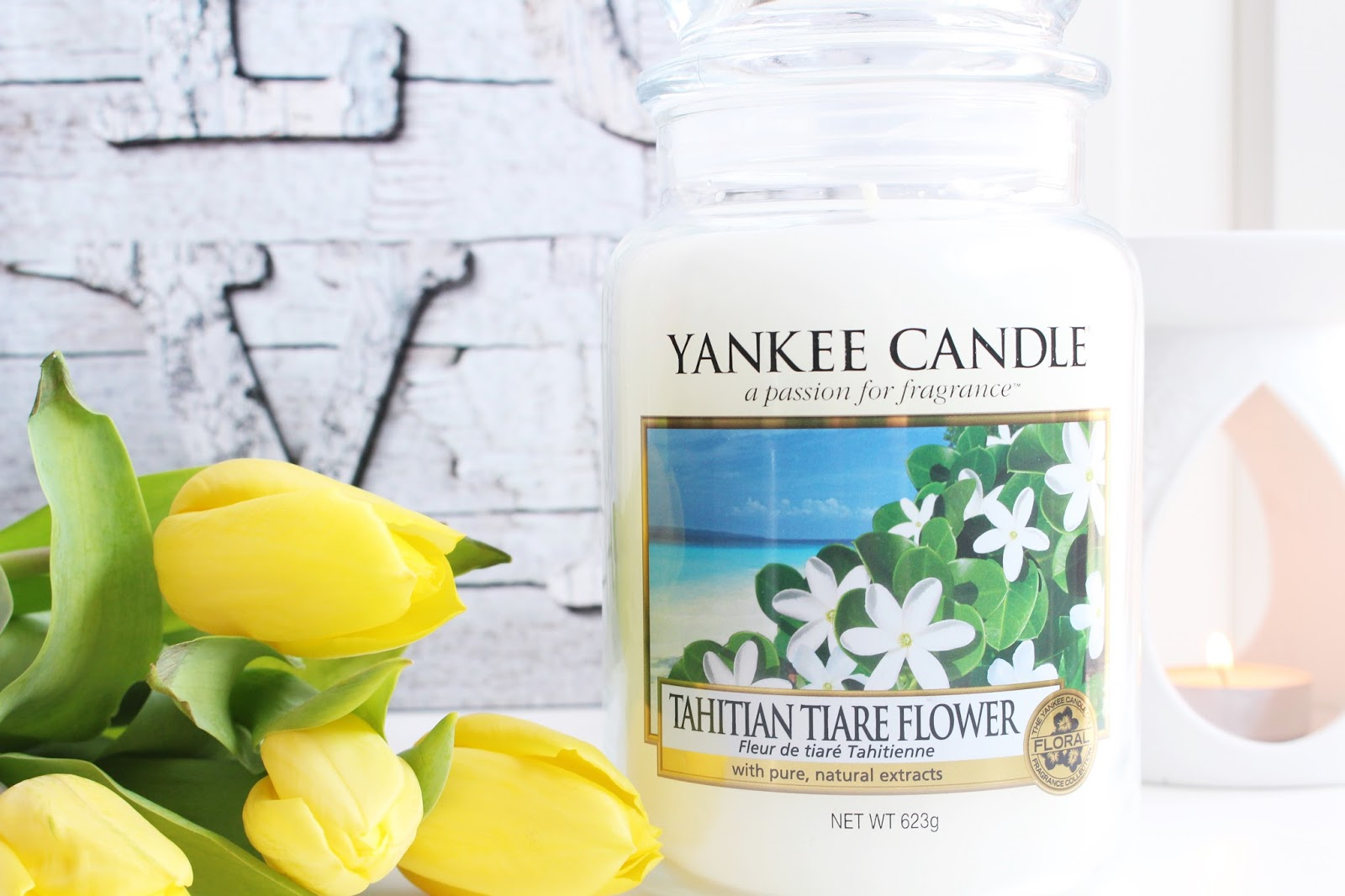 Yankee Candle ➤ Tahitian Tiare Flower ➤ USA collection