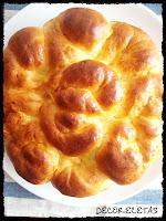 Pan sueco al azafrán