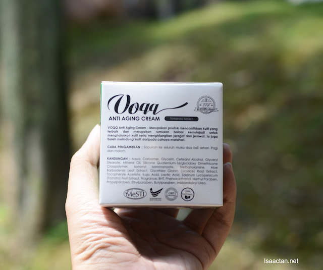 Certified, with complete information on the packaging