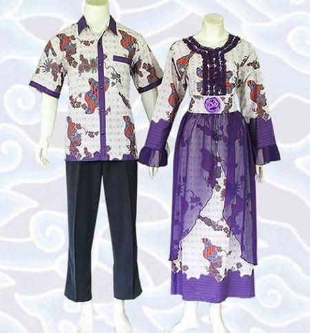 15 Model Baju Batik Kombinasi Sifon Terbaru 2018 1000