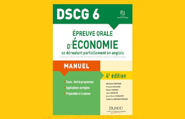 DSCG 6 Épreuves Orales d'Économie PDF