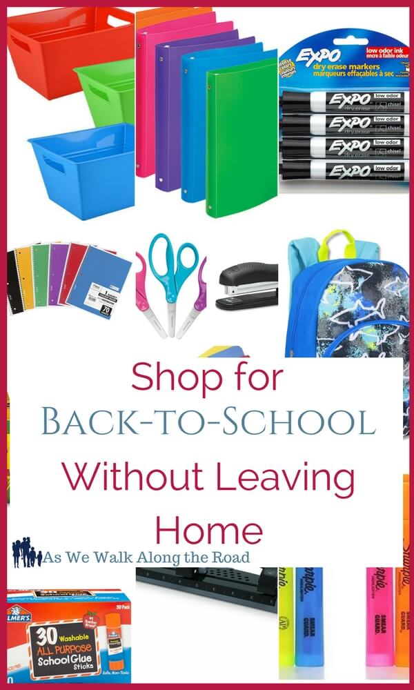 Back-to-school shopping without leaving home