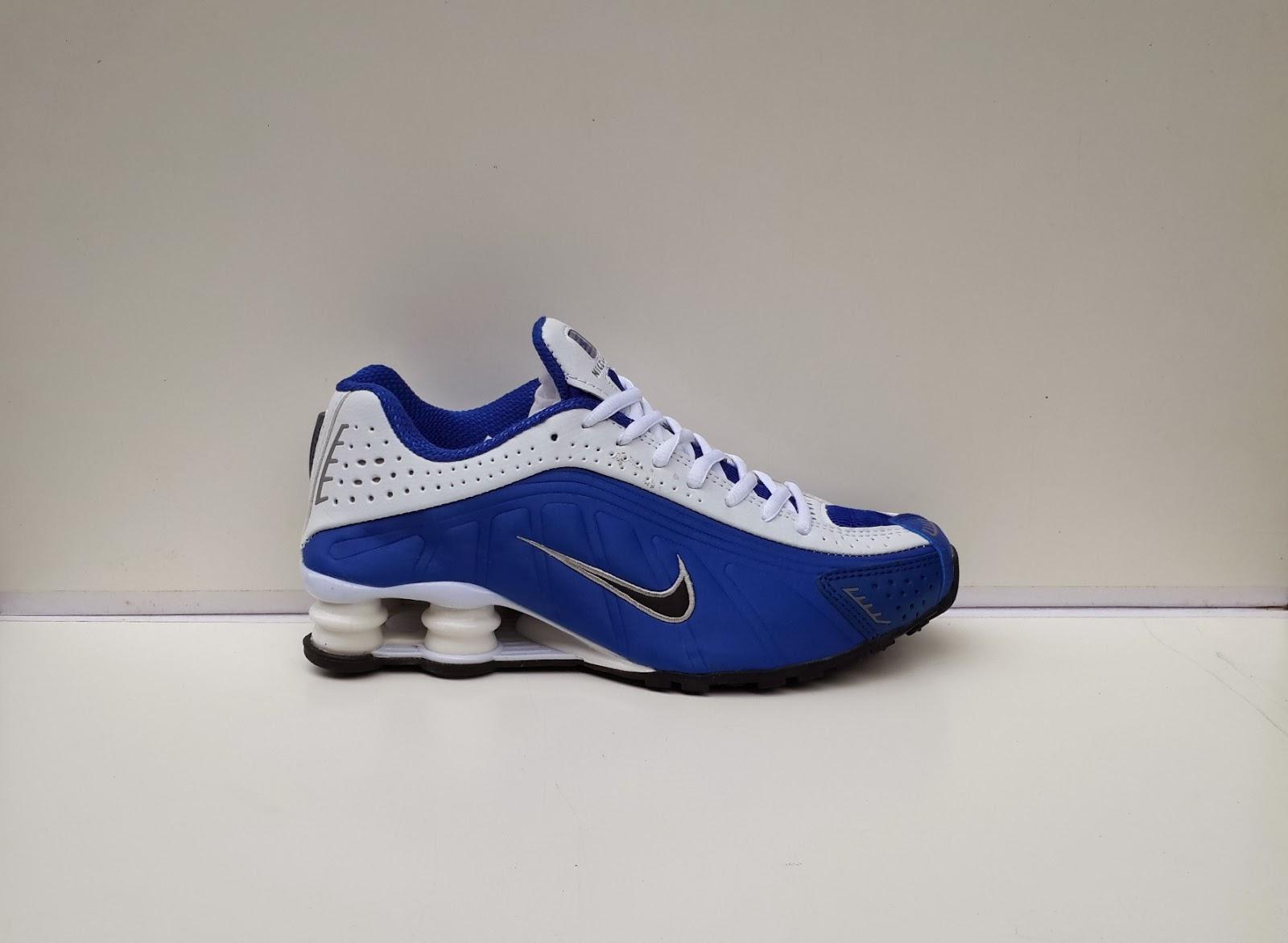 Nike Shox warna Biru