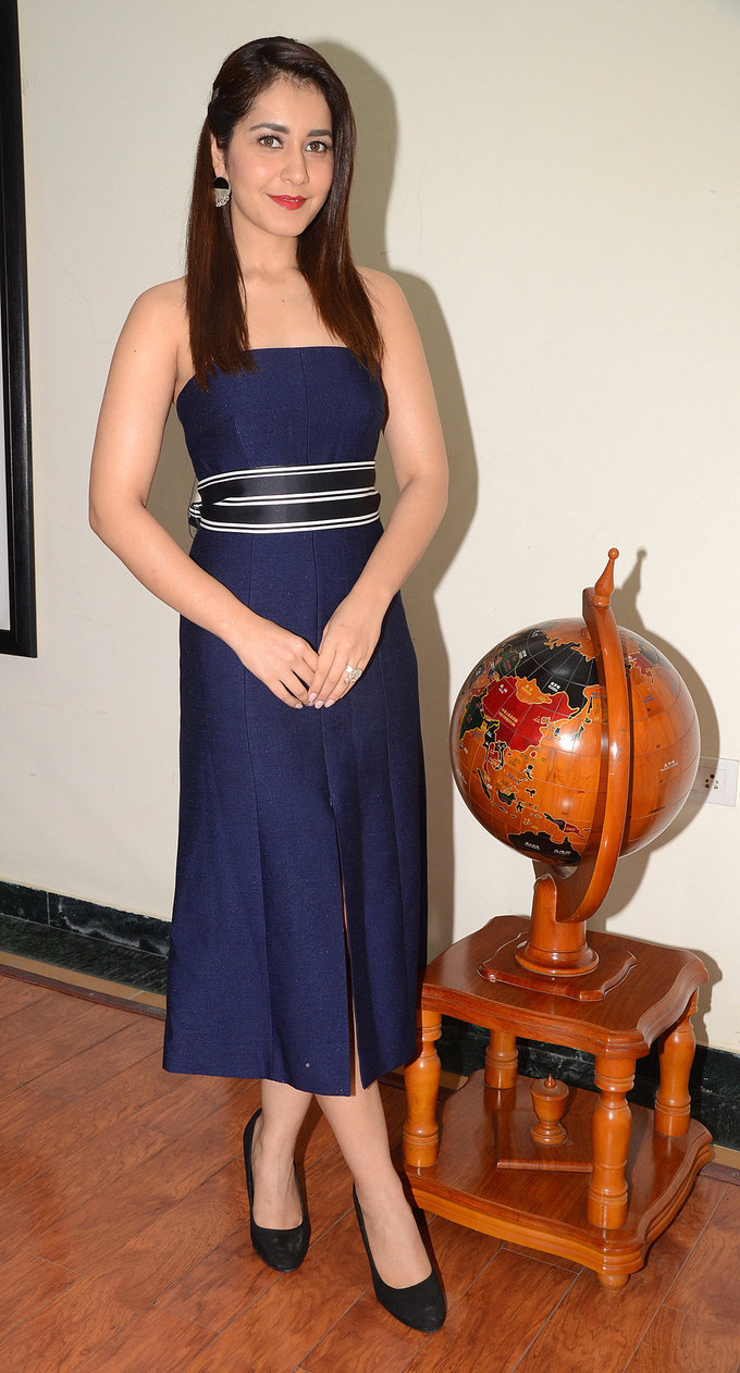 Raashi Khanna at HITAM College Event Stills
