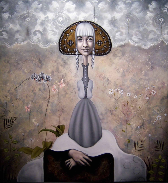 Tina Blondell 1953 | Austrian-born American figurative painter