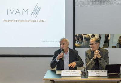 El IVAM presenta su programa expositivo para 2017