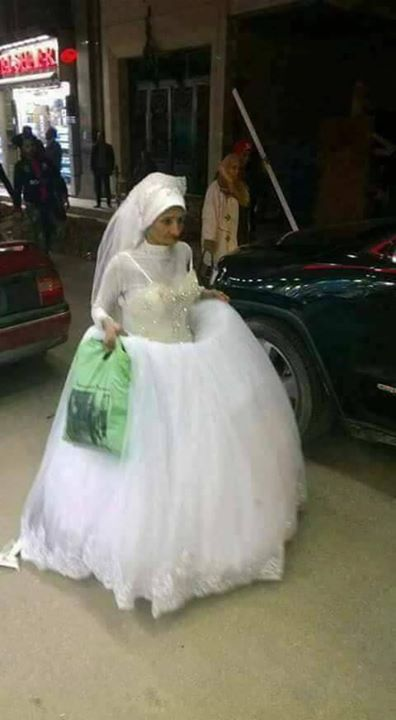عروس الأسكندرية تزف نفسها دون عريس