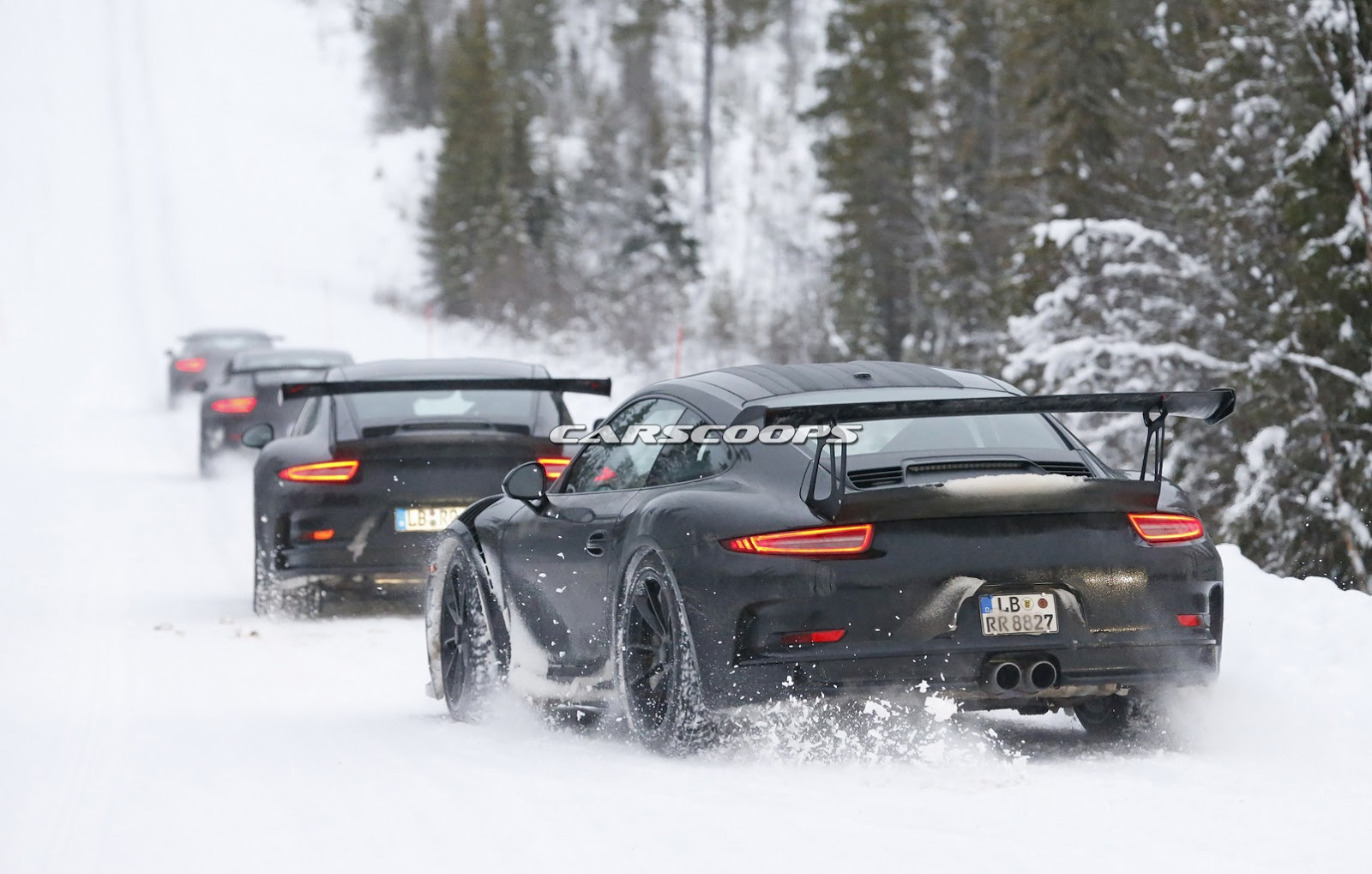 Where Are Nissans Made >> New Porsche 911 GT3 RS Spied Dancing in the Snow | Carscoops