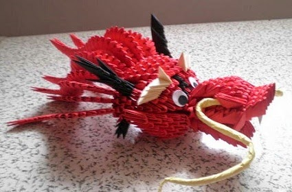 Origami Chinese Dragon Head Craft Ideas And Art Projects