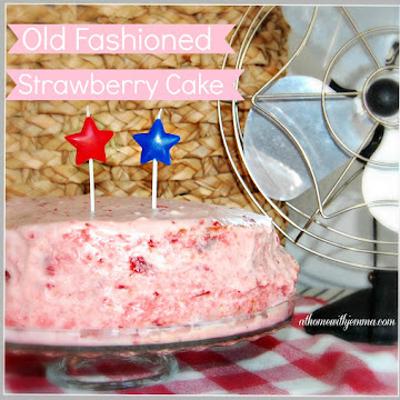 Old Fashioned Strawberry Cake