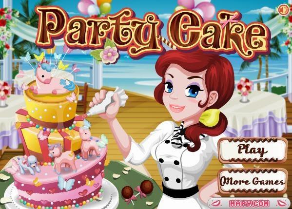 Game Barbie Cake