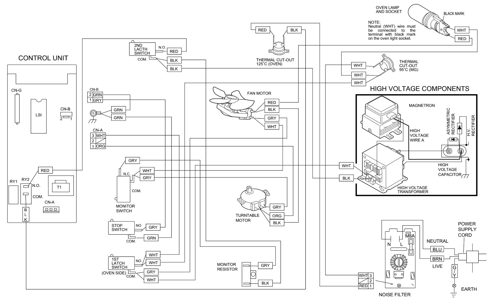 Ge Microwave Wiring Diagram All Vehicle Diagrams Samsung Camera Sme 4221n Oven 29 Images For