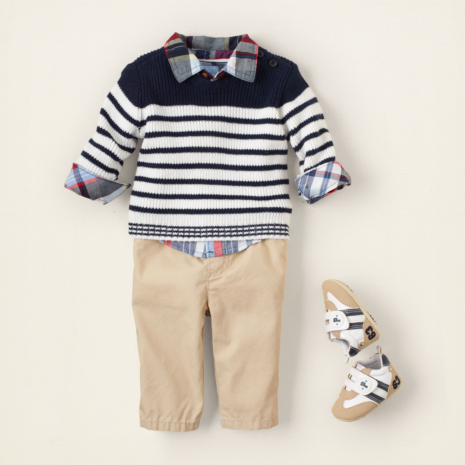 Baby Boys Navy Blue Amp White Cotton Sailor Bavy Clothes