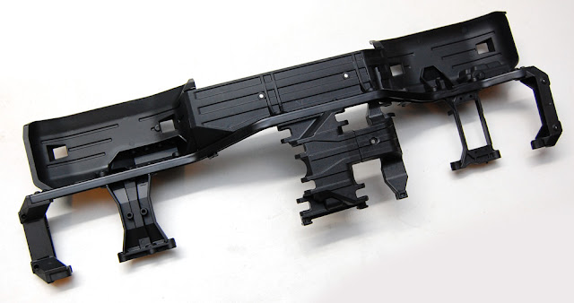 Traxxas TRX-4 chassis assembly