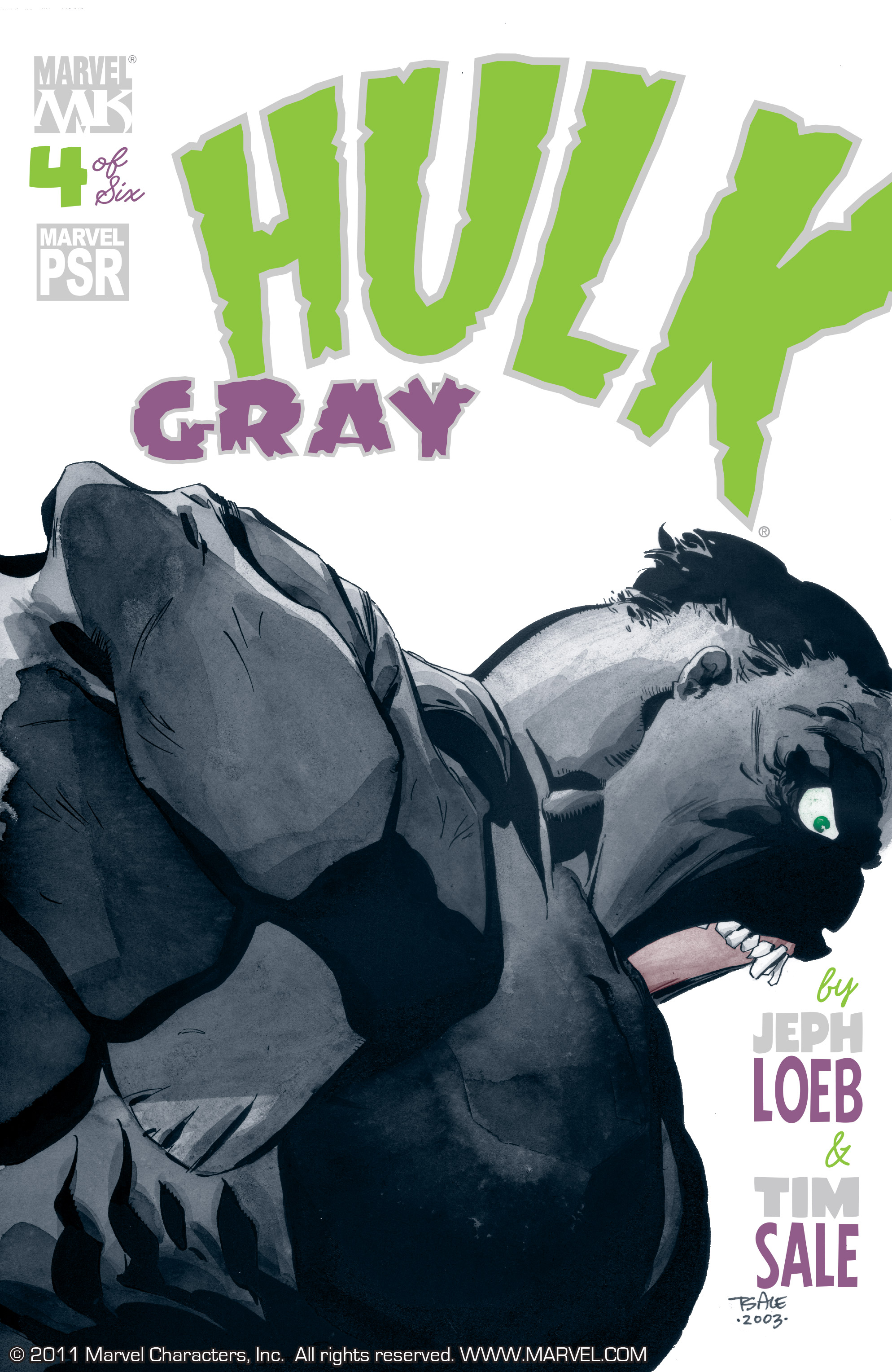 Read online Hulk: Gray comic -  Issue #4 - 1