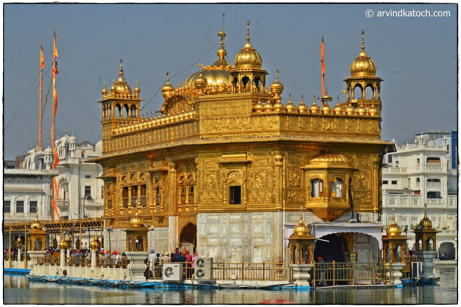 Golden temple, Backside,
