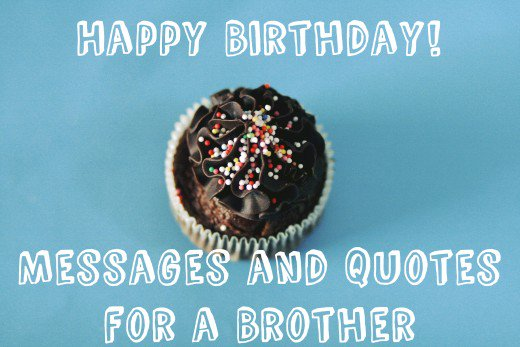 happy birthday cake with name brother muffin image
