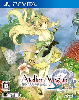 Atelier Ayesha: The Alchemist of Dusk PS VITA GAME [.VPK]