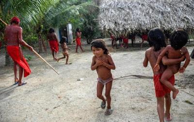 Các bộ lạc trong rừng Amazon có cuộc sống  biệt lập với thế giới hiện đại