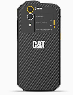 Cat S60 Android Smartphone With Integrated Thermal Camera