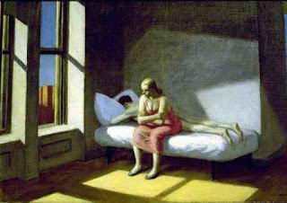 Edward Hopper. Лето в городе. 1950