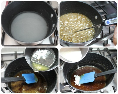 come si prepara il caramello