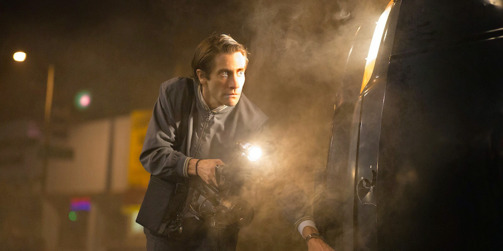 Nightcrawler:Jake Gyllenhaal | A Constantly Racing Mind