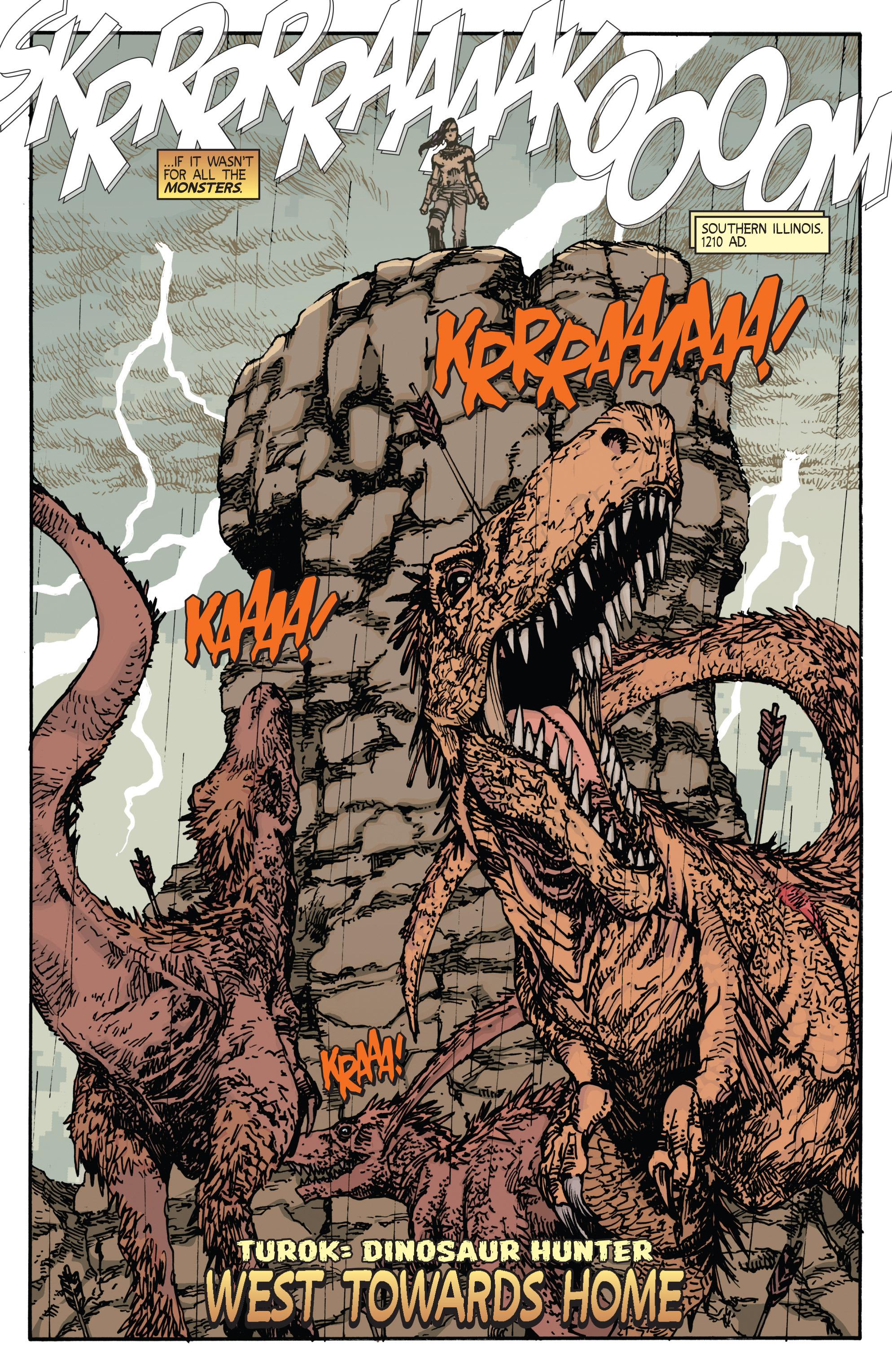 Read online Turok: Dinosaur Hunter (2014) comic -  Issue # _TPB 2 - 6