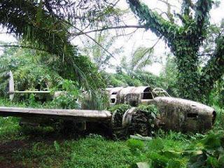 Pesawat yang hilang semasa Perang Dunia ke-2 di New Guinea
