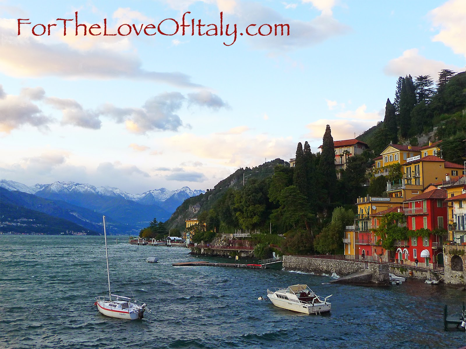 Lake Como, Italy © 2014 For The Love Of Italy
