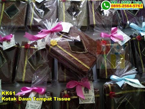 Harga Kotak Daun Tempat Tissue