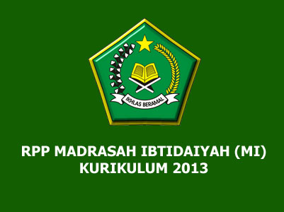 RPP Qur'an Hadis MI Kurikulum 2013