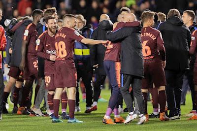 Klasemen Liga Spanyol, Barcelona Pastikan Juara