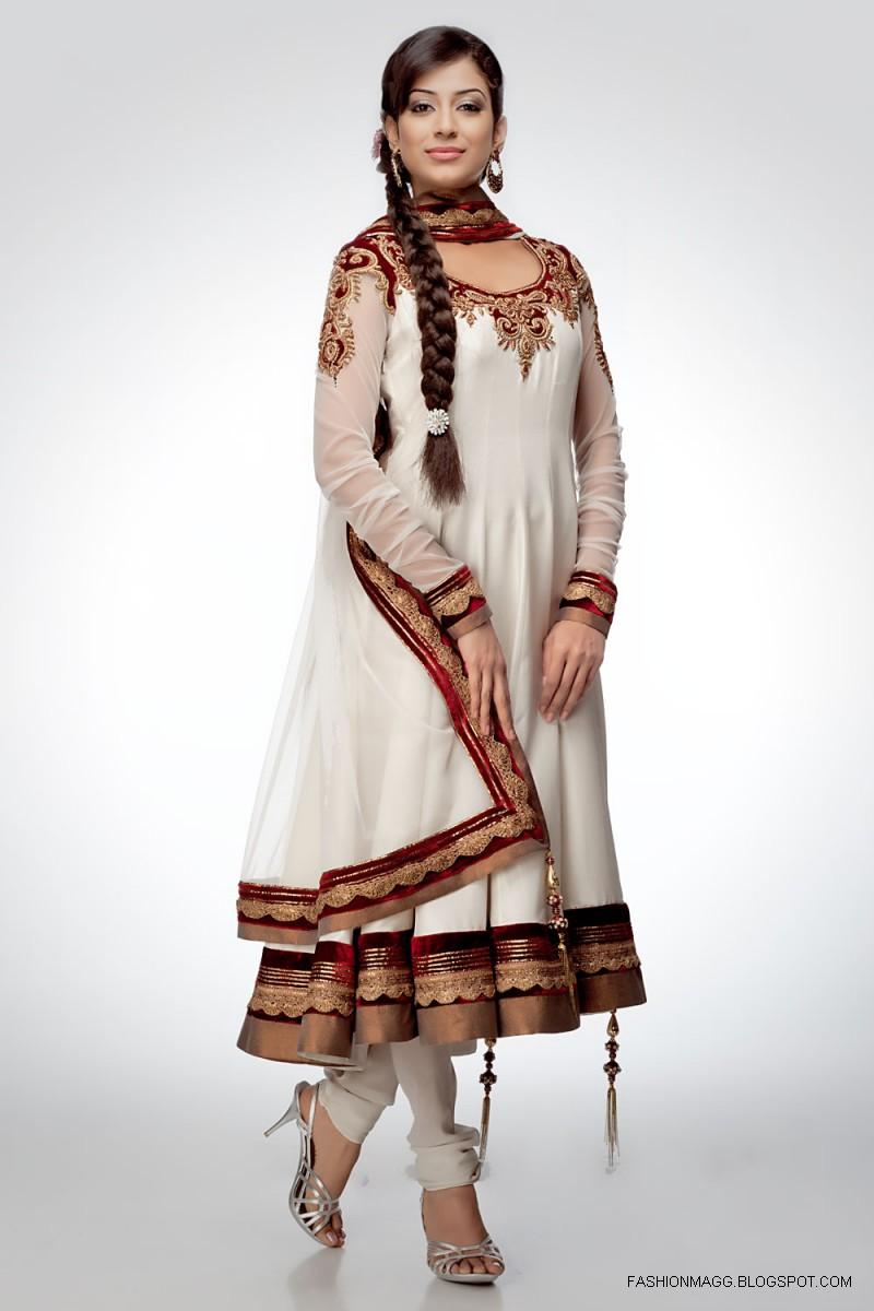 Fashion & Style: Anarkali Umbrella Frocks-Anarkali Fancy ...