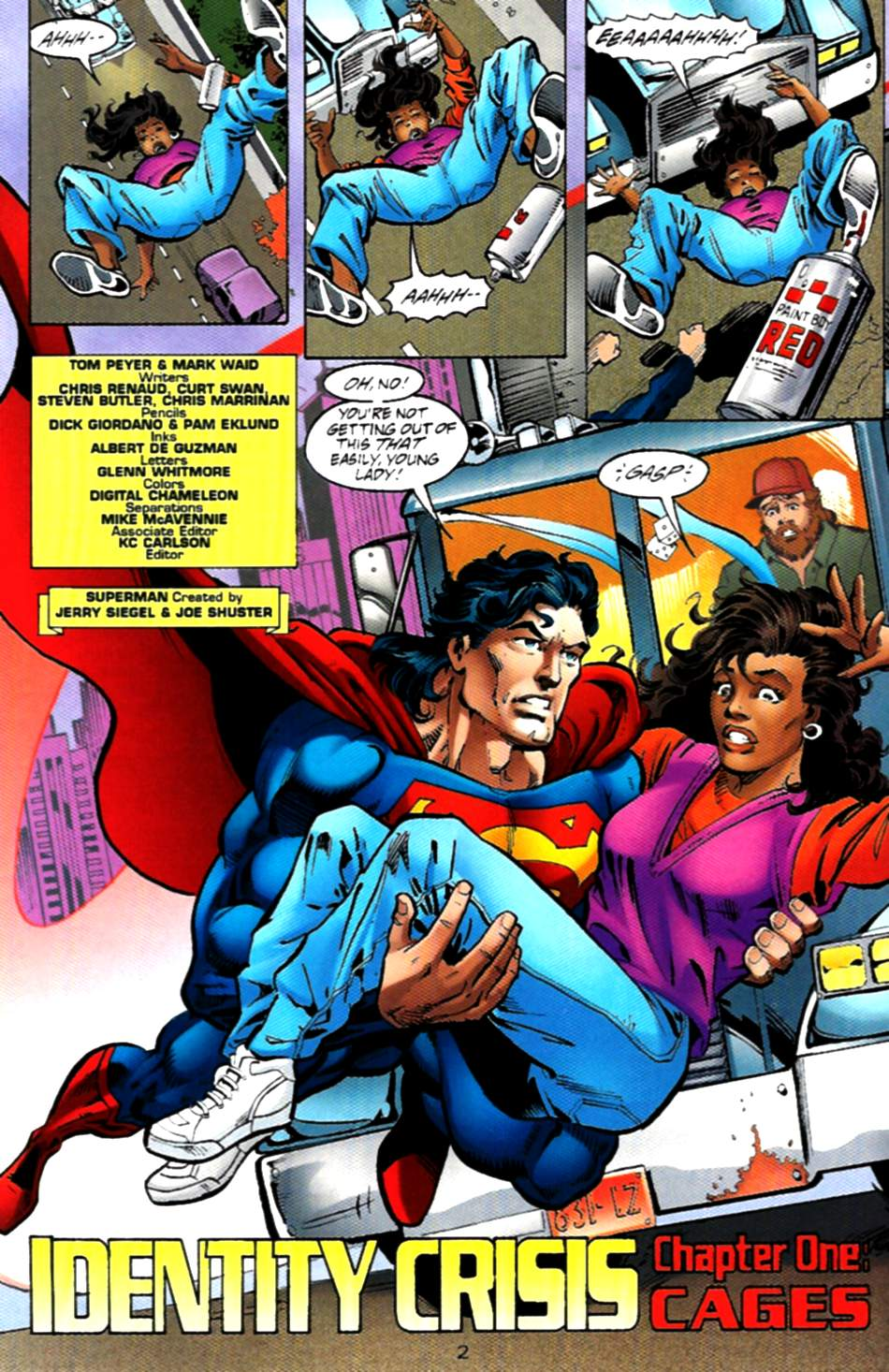 Read online Adventures of Superman (1987) comic -  Issue #536 - 3