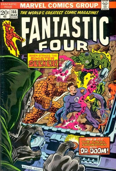 Fantastic Four #144, Dr Doom, The Seeker