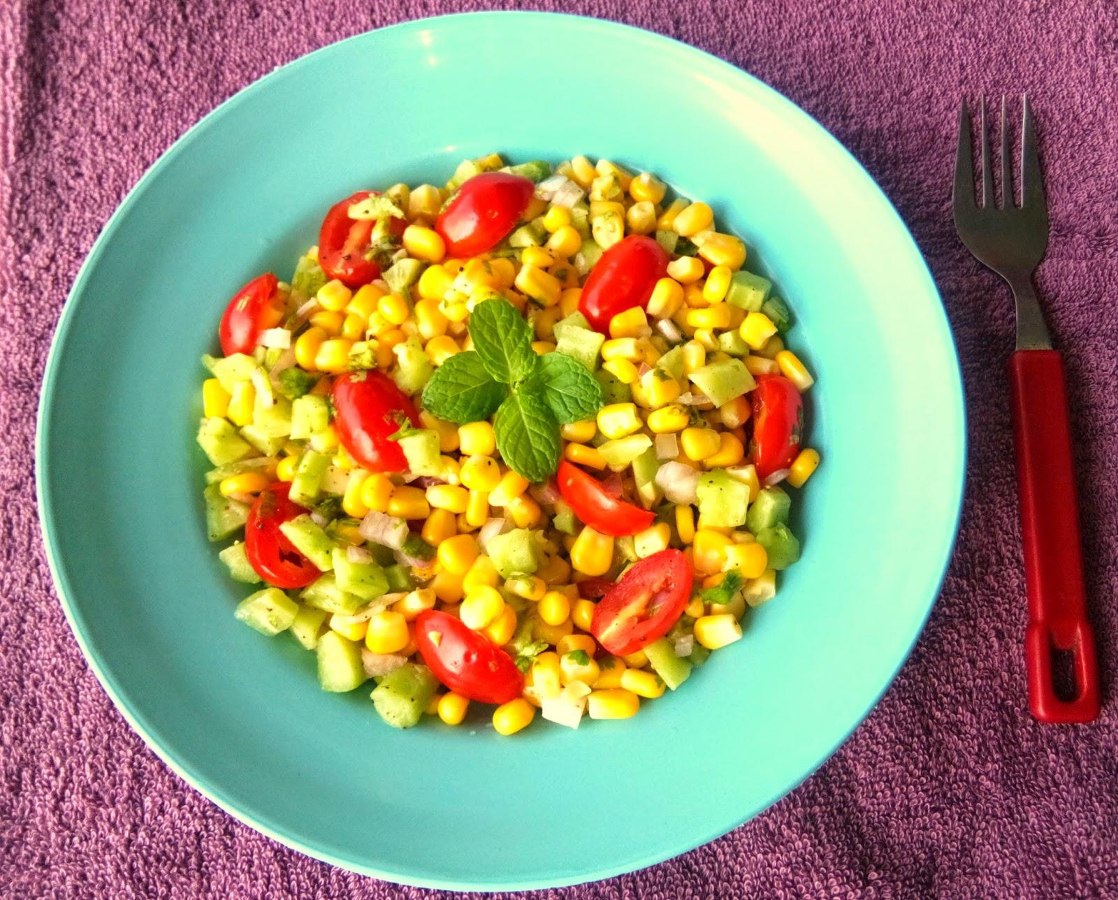 Corn Salad Recipe Kerala Style