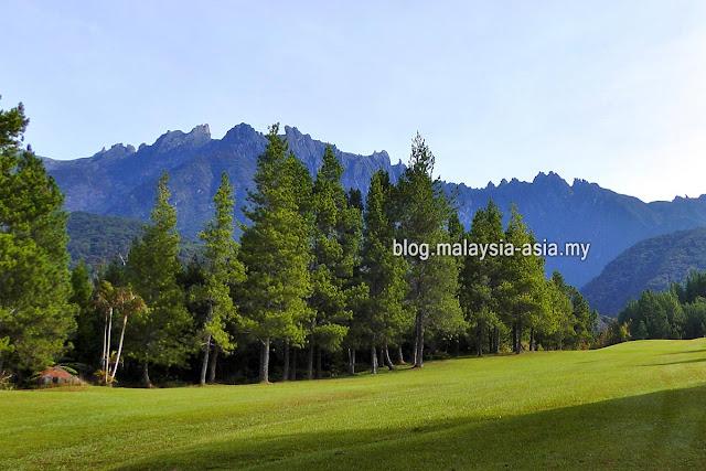 Mesilau View of Mount Kinabalu