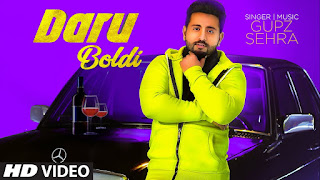 Presenting Daru boldi lyrics penned by Kulshan Sandhu whereas Daru boldi song is sung & composed by Gupz Sehra. Music is also given by Gupz Sehra