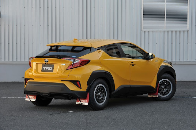 Toyota C-HR Rally - Rear